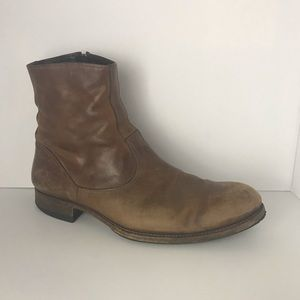 N.D.C Leather Ankle Boots